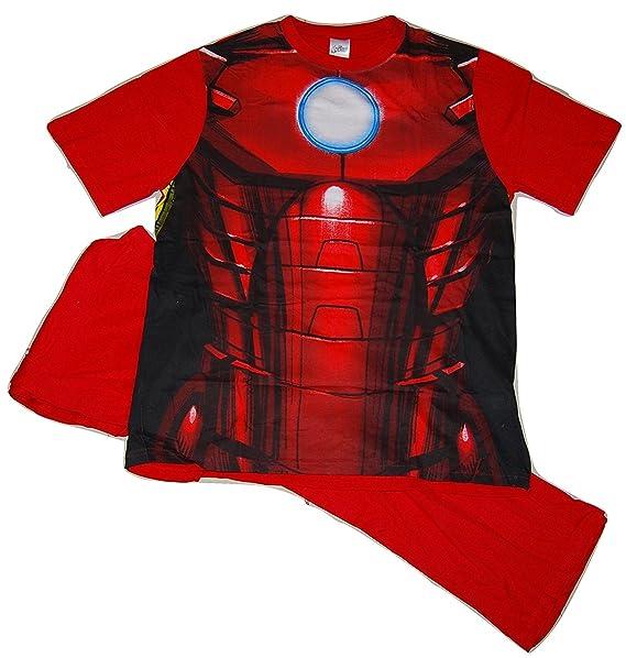 Iron Man - Pijama - para hombre Rojo rosso small