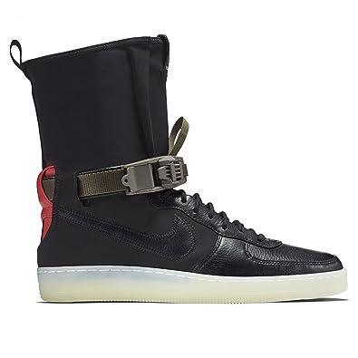 e008185e3d9e Image Unavailable. Image not available for. Color  Nike AF1 Downtown HI SP  Acronym Black AIR Force 1 NikeLab ...