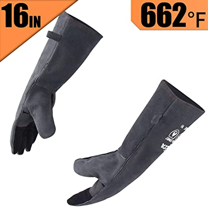 Self-Conscious Fire Insulation Safety Gloves Heat Resistant Glove Aramid Bbq Glove Oven Kitchen Glove Direct Supply Forearm Protection Back To Search Resultsapparel Accessories