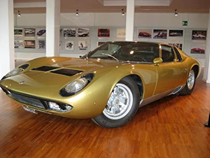 Amazon Com Gifts Delight Laminated 32x24 Poster Lamborghini Miura