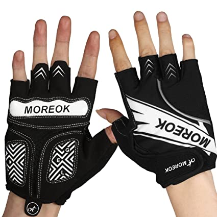 CUSHY Half Finger Glove Sports Gym Gloves Fitness Training Exercise Weight Lifting Anti Slip Gloves Hiking Gloves: S Accessories Exercise & Fitness
