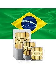 Brasile prepagata SIM + 9GB veloce Mobile Internet & int. Tel. per 30giorni