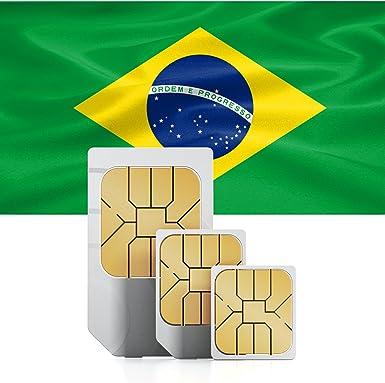 Amazon.com: Brasil 9 GB Prepago rápido Internet datos SIM 52 ...