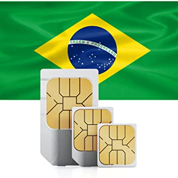 Brasil 3 GB Prepaid datos SIM tarjeta – con 3 GB Internet móvil para 30 días
