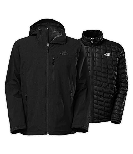 2b3c9f6d1 Men's The North Face Thermoball Triclimate Jacket TNF Black Heather Size  Large