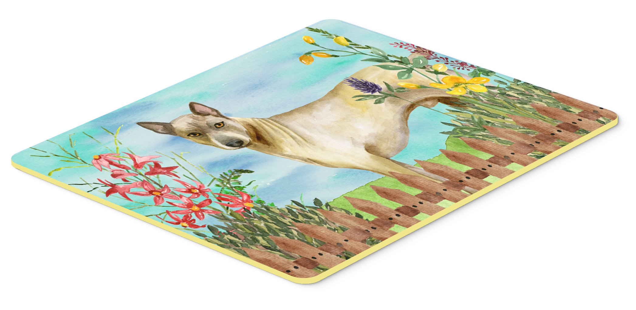 Caroline's Treasures CK1242JCMT Thai Ridgeback Spring Kitchen Mat, 24 x 36'', Multicolor by Caroline's Treasures