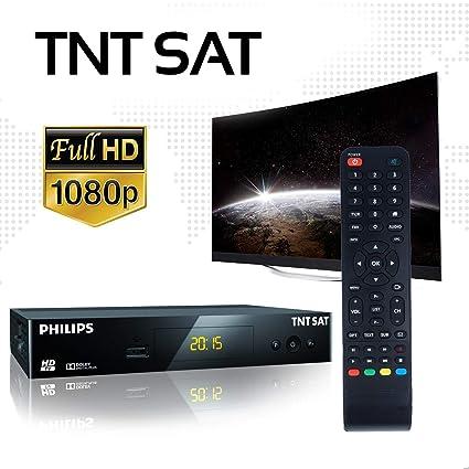 TNTSAT - Decodificador TDT satélite (Receptor + Tarjeta ...