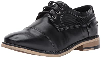 ba51e84b9 Steve Madden Boys  BSTRIKER Oxford Black 13 M US Little Kid