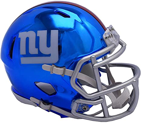 Image Unavailable. Image not available for. Color  Sports Memorabilia  Riddell New York Giants Chrome Alternate Speed Mini Football Helmet ... 7b08cb550