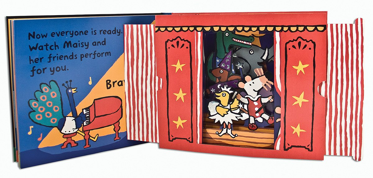 Maisy's Show: A Maisy Pop-up-and-Play Book