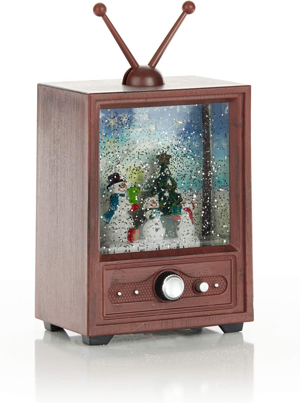 ReLive - Televisor de Navidad (LED, diseño de muñeco de Nieve): Amazon.es: Hogar