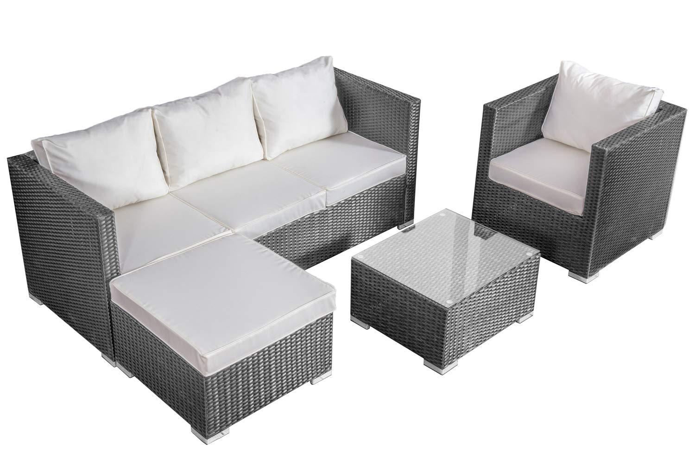 Guaranteed10Less Rattan Lounger Sofa Set Garden Furniture Patio Corner  Outdoor Conservatory Unit