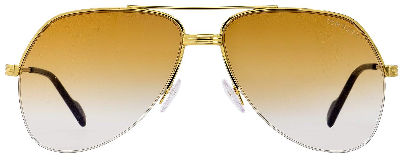 Tom Ford FT0644 32F 62, Montures de Lunettes Mixte Adulte, Or (Oro Marrone  Grad)  Amazon.fr  Vêtements et accessoires bf9e9d18989