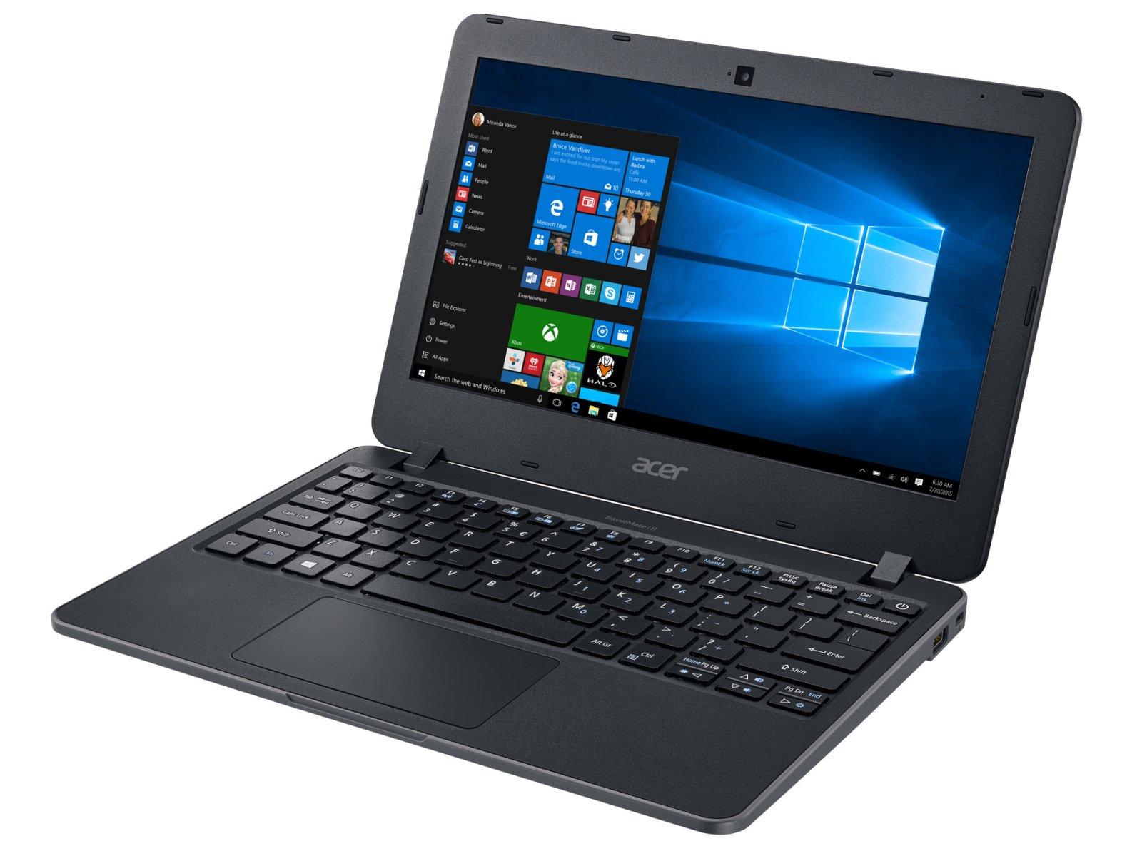 Acer Travelmate B (TMB117-MP-C2G3) Celeron N3060 DC 1.6GHz 4GB 32GB 11.6'' Touch Screen Windows 10 Pro