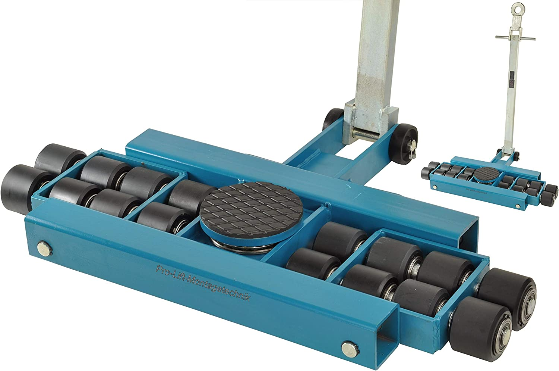 Pro-Lift-Werkzeuge Mobiles Ger/üst faltbar Aluminium Roll-Ger/üst Bauger/üst Gesamtbreite 200cm Arbeitsger/üst max Arbeitsh/öhe 315cm