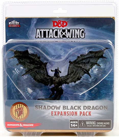 Dungeons & Dragons: Attack Wing - Black Shadow Dragon Expansion Pack: Amazon.es: Juguetes y juegos