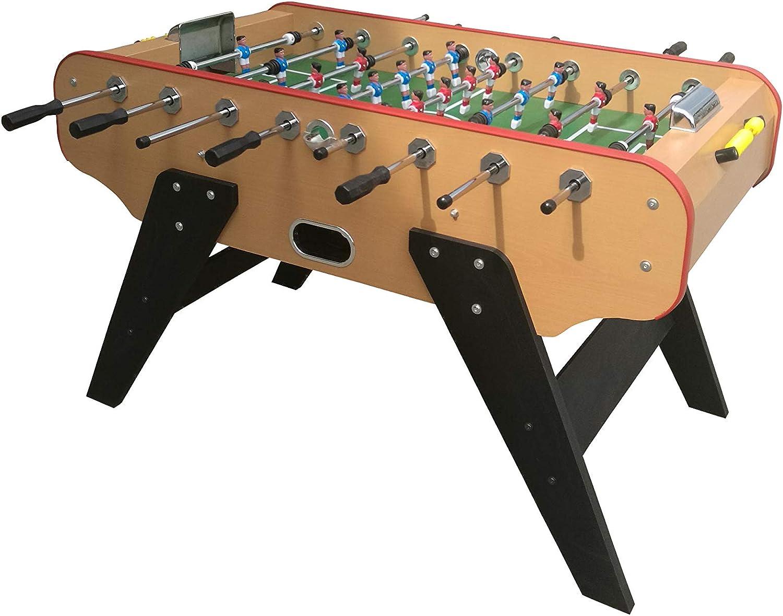 Baby foot -Mesa Futbolin madera -Bar Deluxe Versión Arena -140 x ...