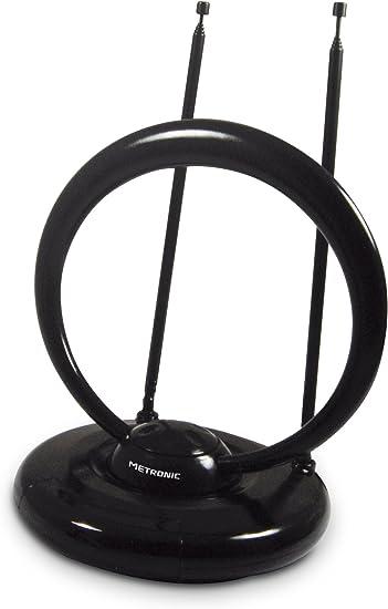 426982 Metronic HD antena interior 40 dB Negro: Amazon.es ...