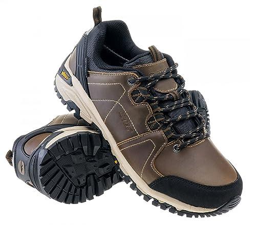 NEU Hi Tec Bonete Low WP Herren Outdoor Schuhe Leder Braun bonete low darkbrown