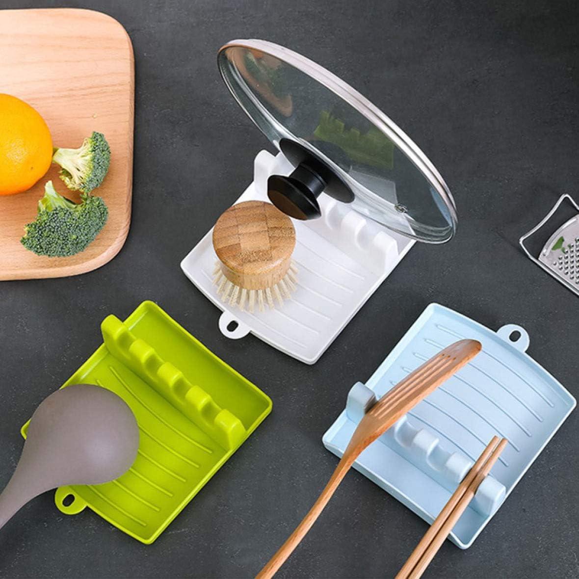 None BL Bia Tobias significant Multifunctional Kitchen Spoon Rack Non-Slip Rack Plastic Spatula Mat Shelf Spoon Shelf