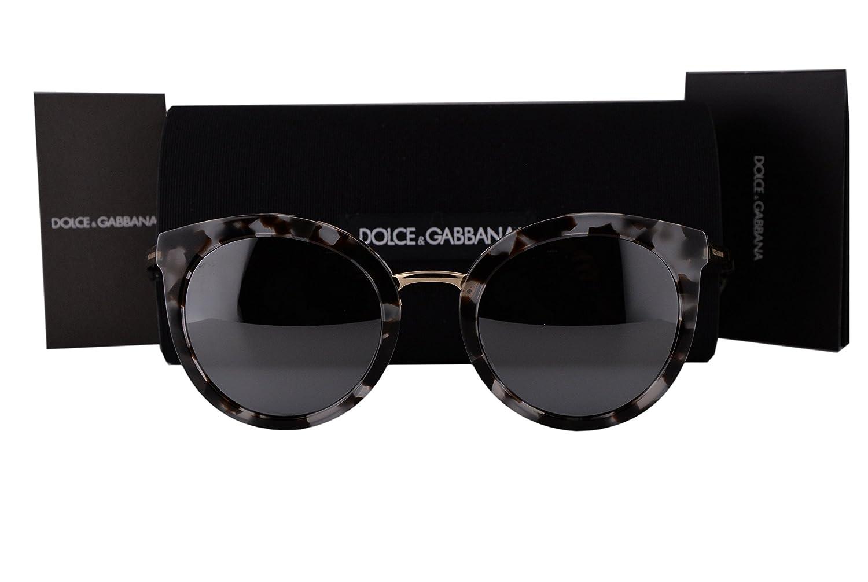 869a8ba82457 Dolce   Gabbana DG4268 Sunglasses Cube Havana Fog w Gray Mirror Lens 28886G DG  4268 For Women  Amazon.ca  Clothing   Accessories