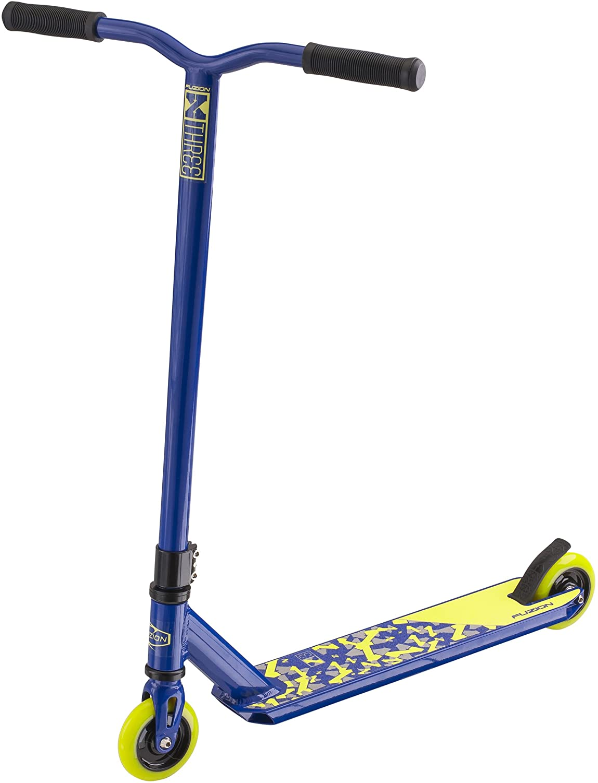 Fuzion X-3 Pro Scooter (2018 Blue & Green)