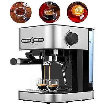 Love Life Cafetera para café exprés de presión portátil, 1400 ml Café Café Barista Espresso y máquina para Hacer capuchinos, presión de Vapor de 15 Bar.