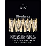 Bienfang Calligraphy Parchment Pad, 8-1/2 X 11 in, Assorted Colors, 50 Sheets