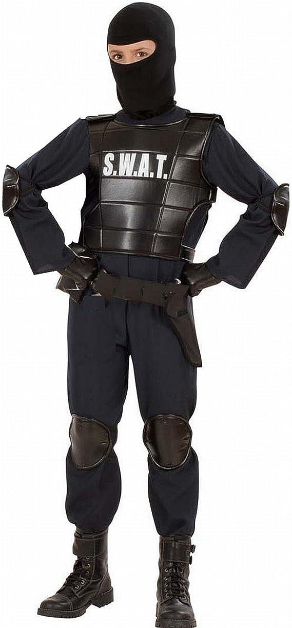 WIDMANN Disfraz Carnaval niño niño SWAT Policía Serie barriles ...
