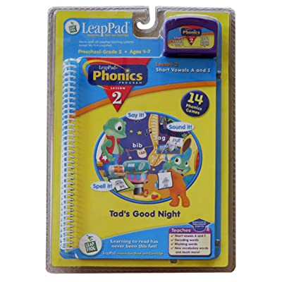LeapPad Phonics Book 2: Toys & Games