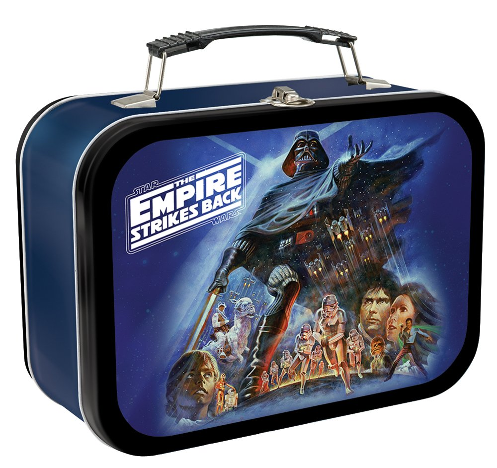 Vandor 99070 Star Wars The Empire Strikes Back Large Tin Tote, Multicolor