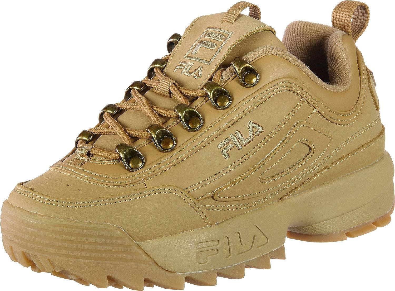TALLA 39 EU. Fila Disruptor Clay Low Wmn 1010535-edu, Zapatillas para Mujer