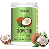 Virgin Coconut Oil Capsules 4000mg/Serving (360 Softgels) by Natrogix-Highest Potency MCT Oil Improves Hair, Skin, Heart…