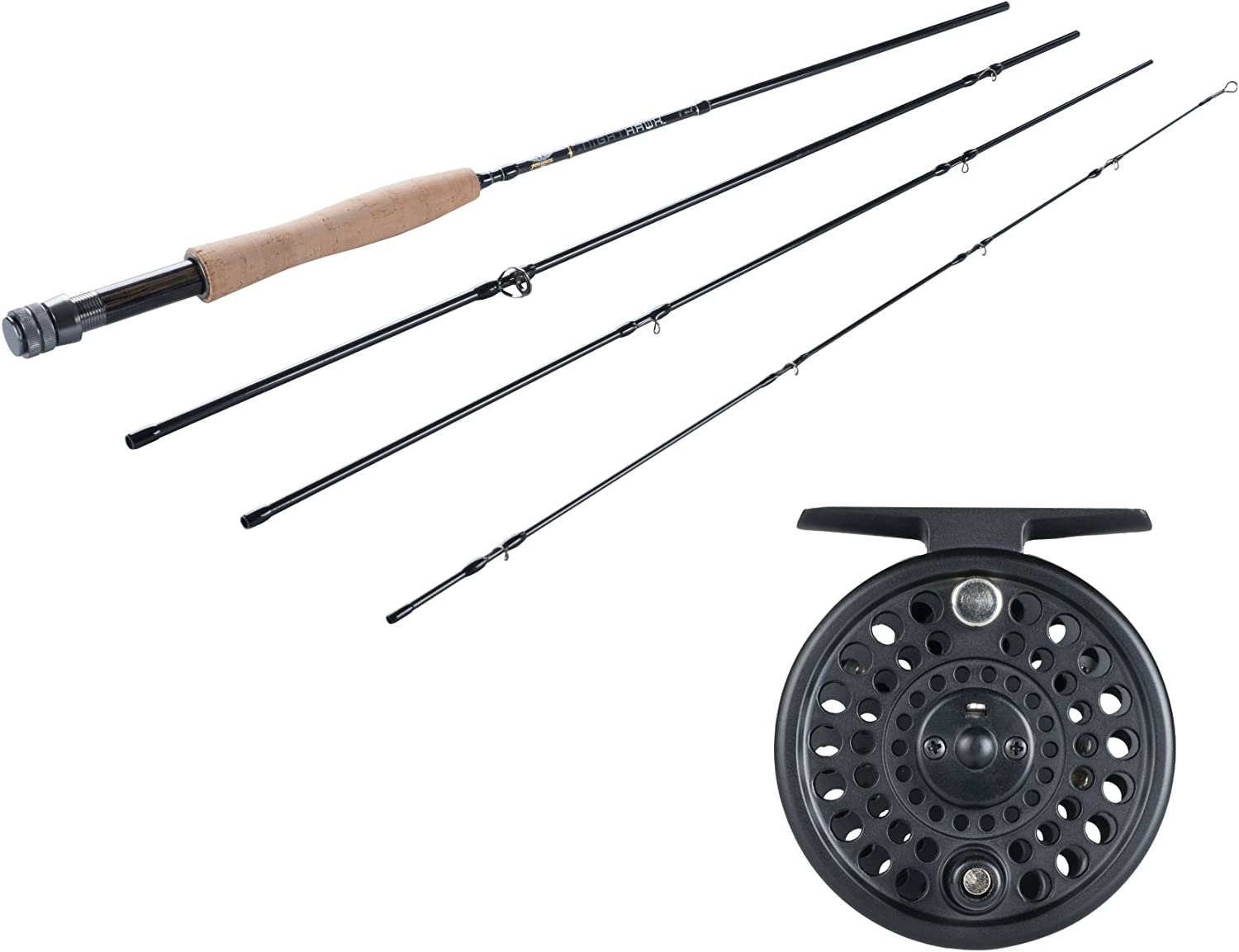 Fenwick Pflueger Monarch Complete Fly Fishing Outfit 9 Ft 5 Wt 4-pc