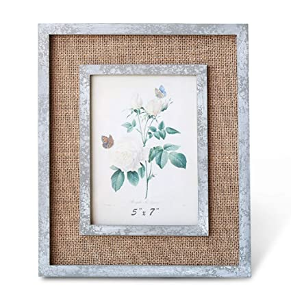 Amazon Boluo Picture Frames Industrial Wood 5x7 Modern Photo
