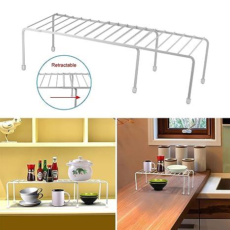 Amazon.com - GPCT Expandable Kitchen Counter & Cabinet Shelf ...