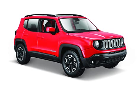 Jeep Renegade Colors >> Amazon Com Maisto 1 24 2017 Jeep Renegade Colors May Vary Toys