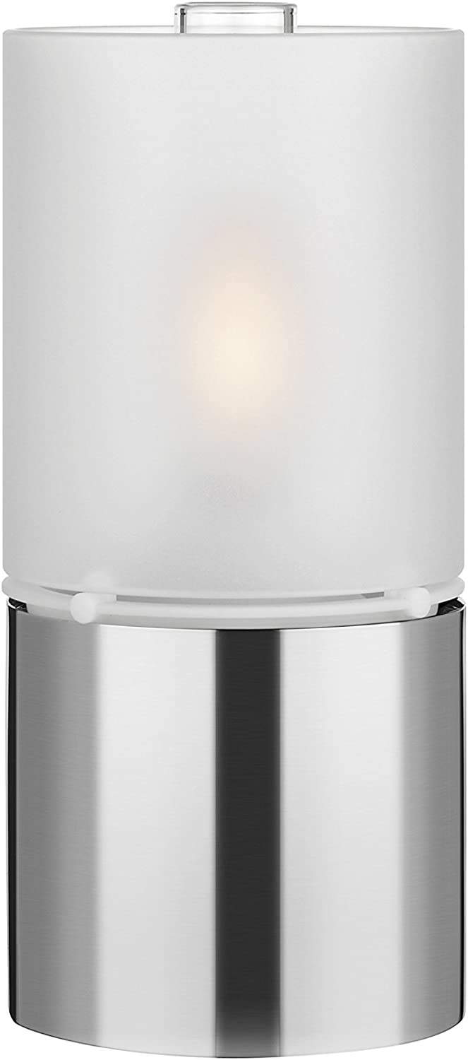 Stelton Oil Lamp with Glass Lid 18x8.5cm Stainless Steel