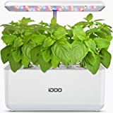 iDOO Hydroponics Growing System, Indoor Garden Starter Kit with LED Grow Light, Automatic Timer Germination Kit, Height Adjus