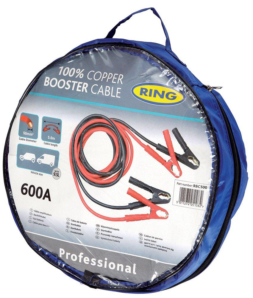 Ring rbc500 a Batteriekabel 50 mm quadratisch, 5 Meter, 600 AH ...