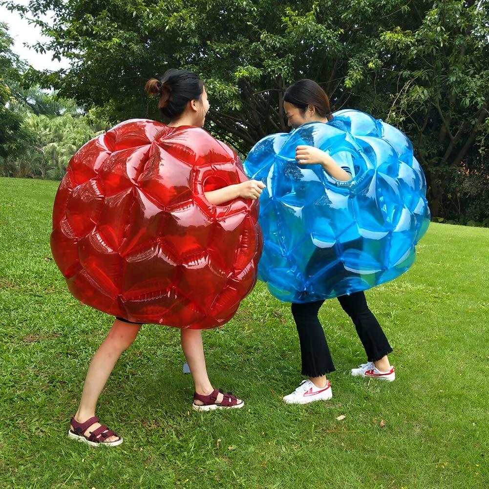PETIOL バンパーボール 2個パック 36インチ 空気注入式バディスマーバンパーボール 大人&子供向けおもちゃゲーム 高耐久 耐久性 ポリ塩化ビニル ビニール製 グラススポットやその他の屋外遊びに B07HH2NC2X