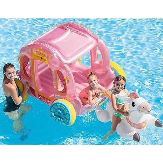 SLONG Inflable Carro de la Piscina Flotador de la Piscina ...