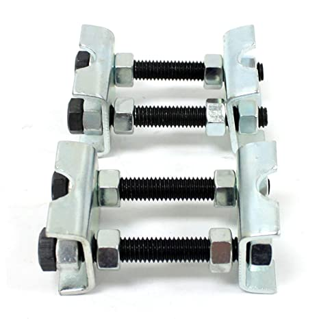 """16 Titanium 5//16/"""" .050  Super 7° Radius Bead Groove Valve Locks Keepers DELWEST"""