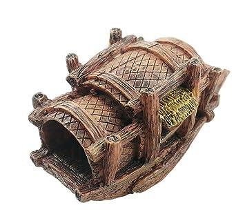 XCXpj Adorno para Acuario o Barco de Pesca, Decoración de Estilo Chino para Decoración de Cuevas de Pescado: Amazon.es: Productos para mascotas