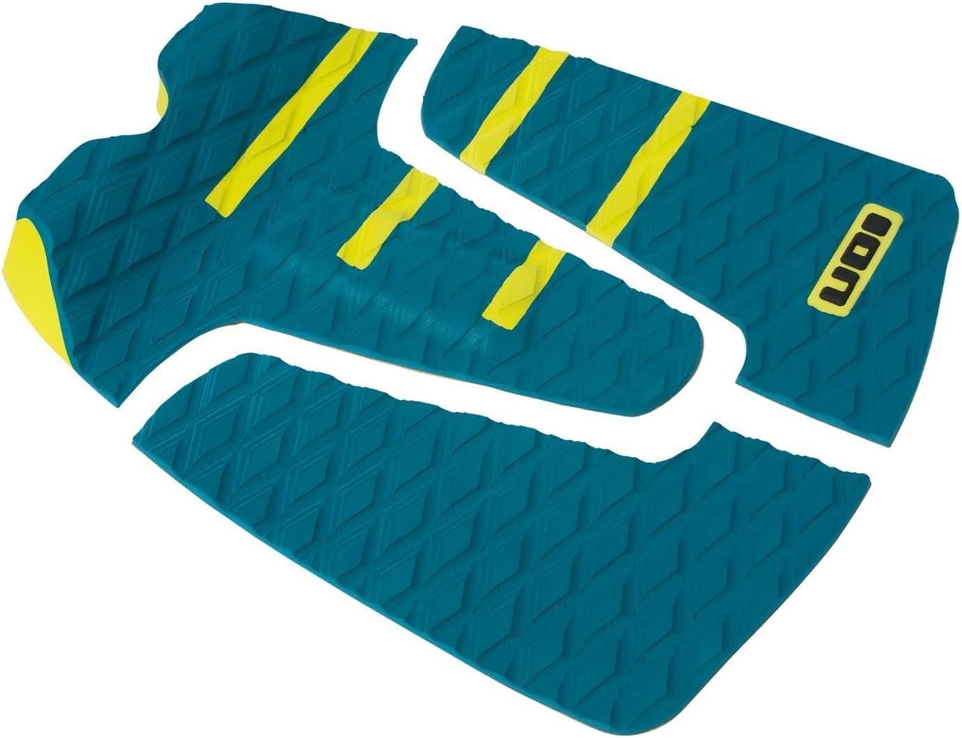 ION Footpad Deck Grip 3-tlg Petrol/Gelb Surfboard Wellenreiter