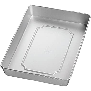Wilton Performance Pans Aluminum Medium Sheet Cake Pan, 11 x 15-Inch