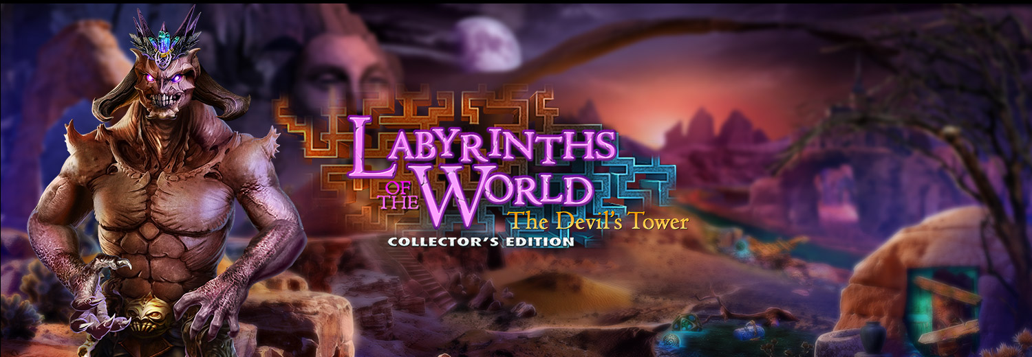 Labyrinths of the World: The Devil's Tower Collector's Edition -