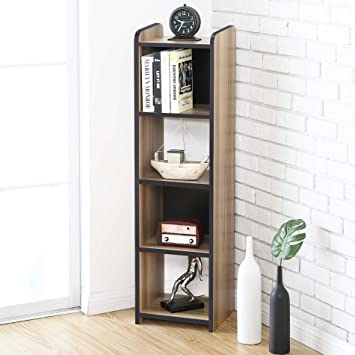 Superbe FITUEYES Cubeicals Bookcase Vertical Organizer Media Tower Storage Shelves  CD Racks And Stands BBC503201WB