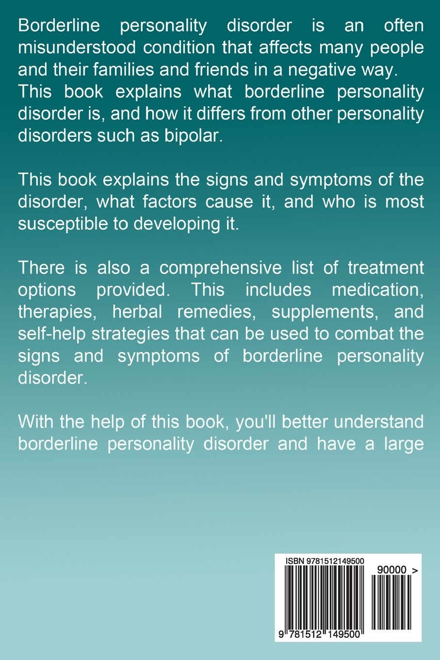 What Is Borderline Personality Disorder >> Borderline Personality Disorder A Complete Guide To The Signs
