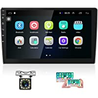 Hikity 10.1 Inch Android Car Stereo with GPS Double Din Car Radio Bluetooth FM Radio Receiver Support WiFi Connect…